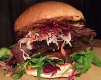 Hirsch & Eber, Pulled Boar Burger
